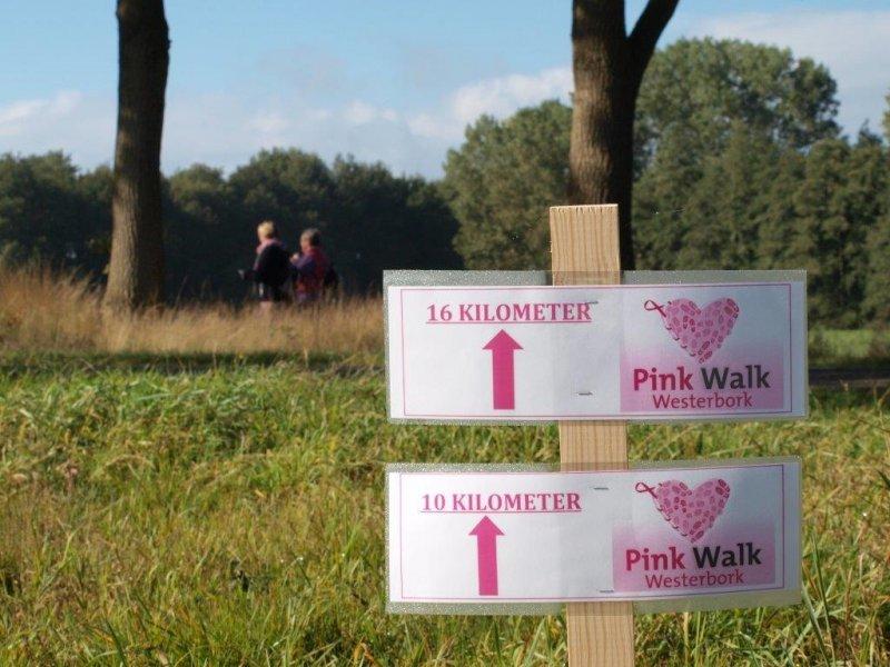 Pink walk & run – Westerbork